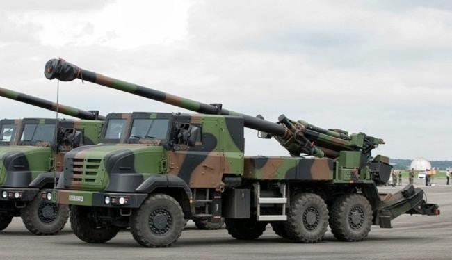 Việt Nam dự đặt hàng 18 hệ thống pháo Caesa của Pháp để tăng cường hỏa lực cho pháo binh - (Ảnh minh họa).