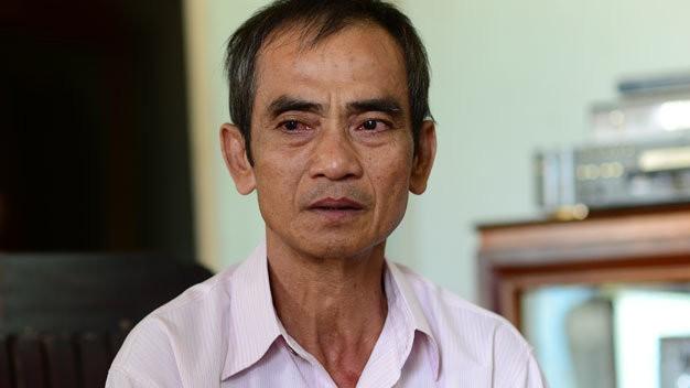 Ông Huỳnh Văn Nén từng xin tạm ứng 1 tỉ đồng tiền bồi thường oan nhưng không được giải quyết.