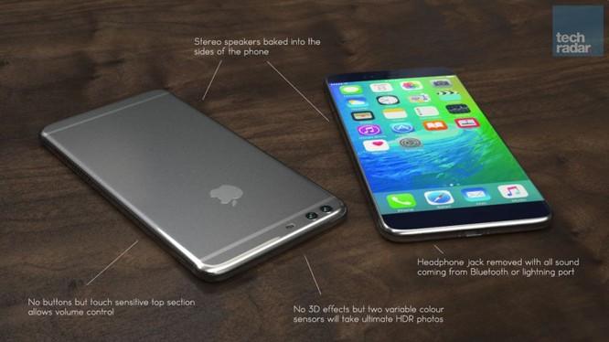 iPhone 7 Plus được trang bị Camera kép.