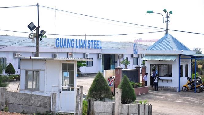 Trụ sở Doanh nghiệp thép Quảng Liên tại KCN Dung Quất - (ẢNh minh họa)