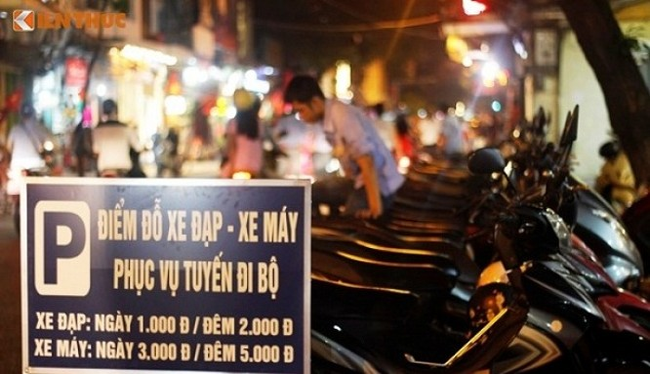 Hà Nội đã có văn bản đề nghị Bộ Tư lệnh Thủ đô và Công an TP Hà Nội tổ chức trông giữ xe - (Ảnh minh họa)