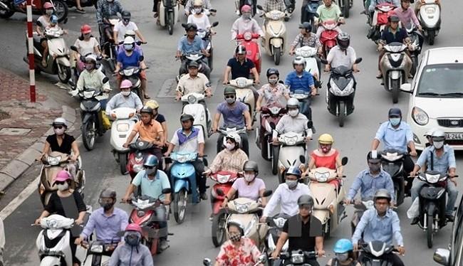 Từ 1/7/2017, xe moto vi phạm quy định khí thải sẽ bị xử phạt hàng chính - (Ảnh minh họa).