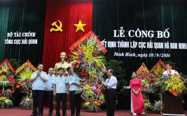 Thành lập Cục Hải quan Hà Nam Ninh- (Ảnh: Hải Quan).
