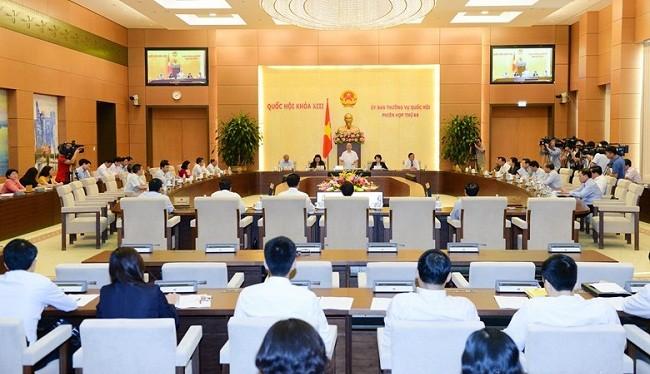 Ủy ban Thường vụ Quốc hội họp - (Ảnh minh họa)