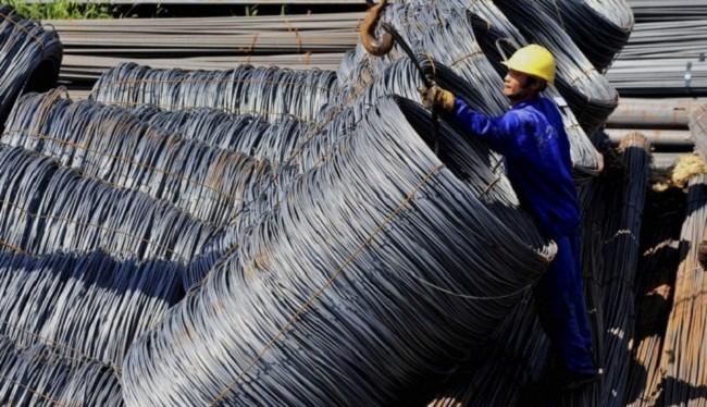 Nhập khẩu thép tư Trung Quốc tăng đột biến - (Ảnh minh họa)