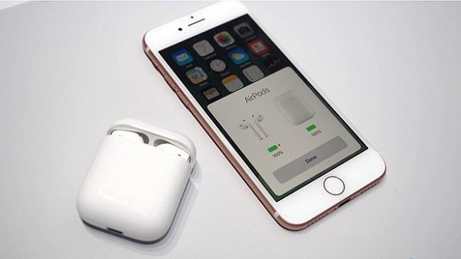 Bộ tai nghe AirPods được Apple chào bán với mức giá 159 USD.