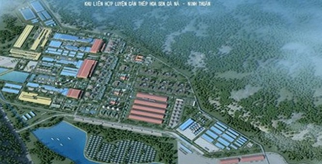 Dự án thép Hoa Sen Cà Ná được Bộ Công thương khẩn cấp đưa vào quy hoạch - (Nguồn Internet)