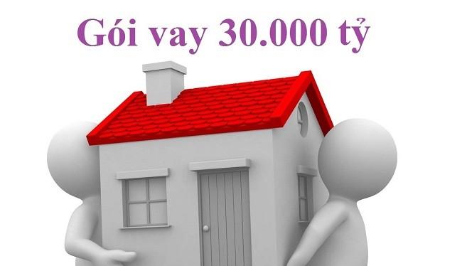 Gói vay 30.000 tỷ sẽ được gia hạn giải ngân đến 31/12/2106 - (Ảnh minh họa)