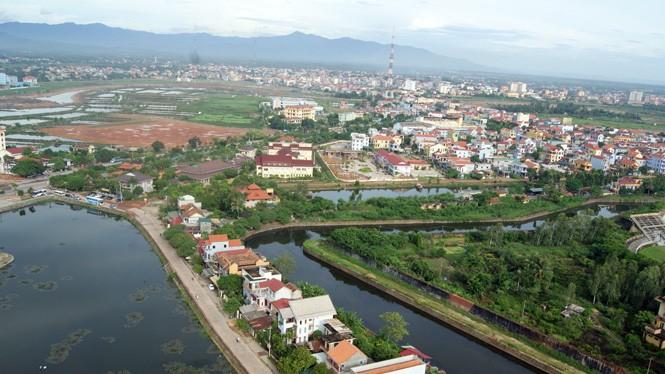 Đồng Hới là một trong 4 tỉnh, thành phố được dự án đầu tư cải thiện môi trường.