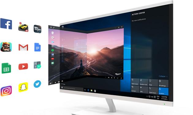 Người dùng có thể thử nghiệm mọi phần mềm của Android trên Windows thông qua phần mềm Remix OS Player.