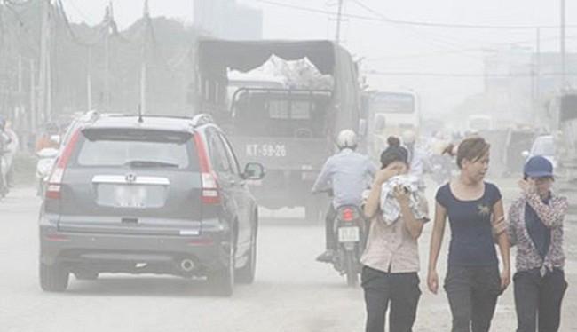 Ô nhiễm không khí làm tăng khả năng mắc các bệnh về hô hấp - (Awnh minh họa)