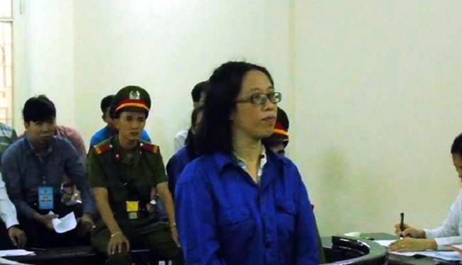 Bị cáo Huỳnh Thị Bảo Ngọc - (Nguồn Internet0