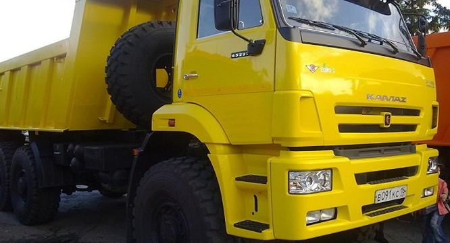 Một mẫu xe của KAMAZ - (Nguồn internet)