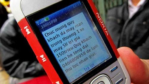 Các chủ sử dụng điện thoại di động đang mệt mỏi và đôi khi mất tiền oan bởi những tin nhắn quảng cáo.