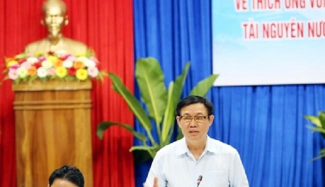 Phó Thủ tướng Vương Đình Huệ chủ trì Hội nghị - (Nguồn Vietnamplus)