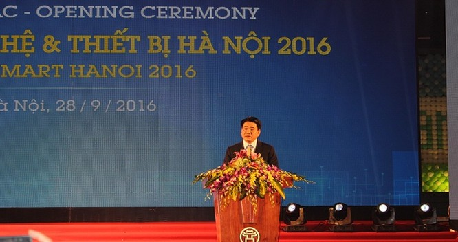 Ông Nguyễn Đức Chung, Chủ tịch UBND TP Hà Nội.