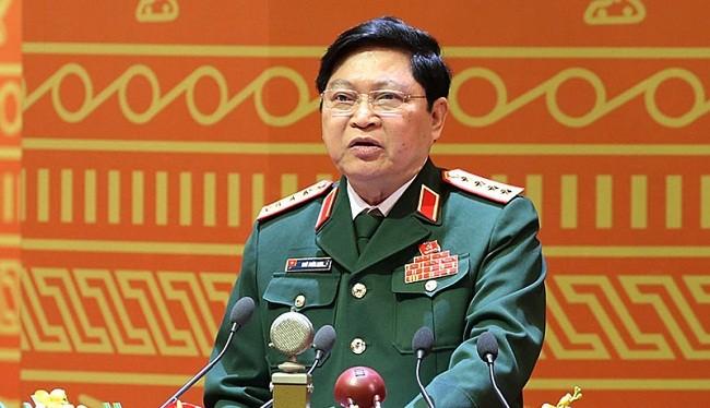 Bộ trưởng Bộ Quốc phòng Ngô Xuân Lịch - (Nguồn Internet)