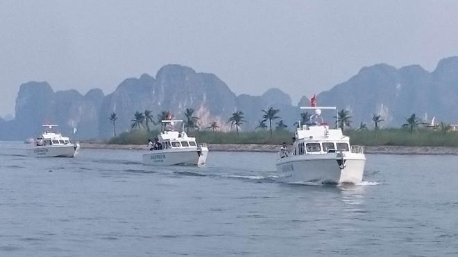 Xuồng tuần tra cao tốc MS-50S đóng mới theo công nghệ Việt Nam- (Ảnh: Công an nhân dân).