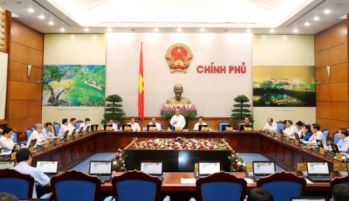 Phiên họp thường kỳ tháng 9/2016 của Chính phủ- (Ảnh: TTXVN).