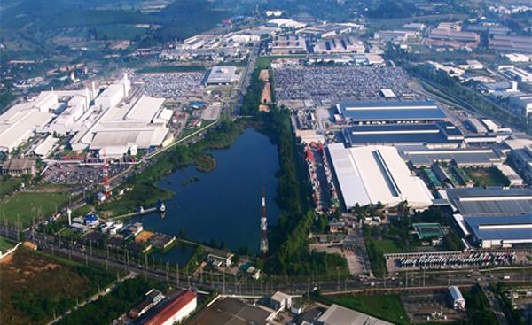 Mô hình Khu công nghiệp Hemaraj trong tương lai.