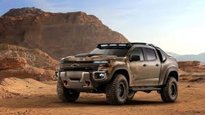 Chevrolet Colorado ZH2 concept