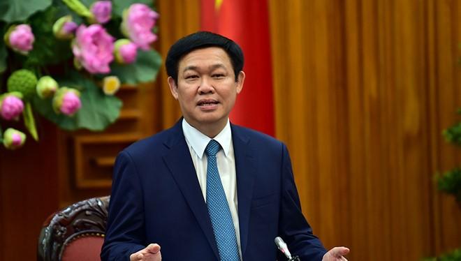 Phó Thủ tướng Vương Đình Huệ - (Nguồn Internet)