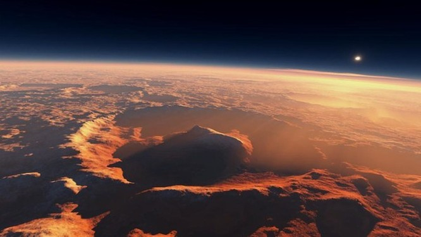 Bề mặt sao Hỏa