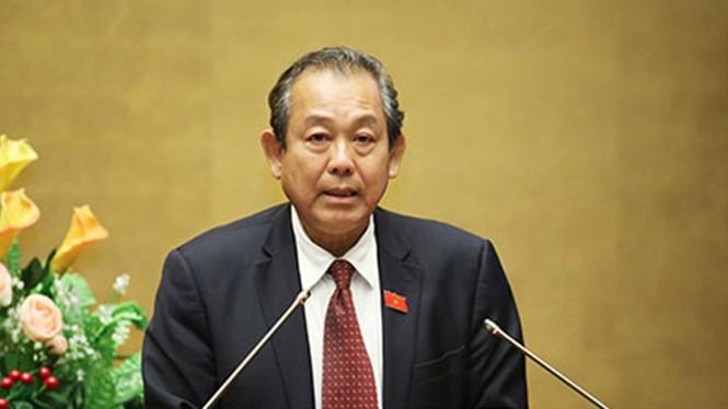 Phó Thủ tướng Thường trực Trương Hòa Bình yêu cầu khẩn trương điều tra vụ 3 bảo vệ rừng bị bắn chết- (Ảnh: Thanh Niên).