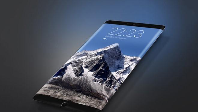 Một trong nhiều mẫu concept về iPhone 8, nhưng có khả năng trái với thực tế- (Ảnh: Conceptphone).