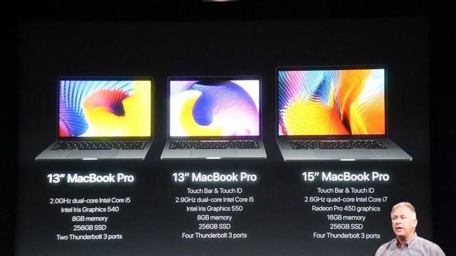 Macbook Pro thế hệ mới của Apple có cấu hình rất mạnh.