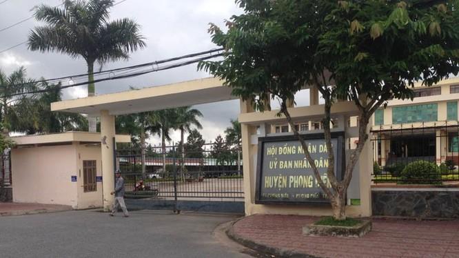 Trụ sở UBND huyện Phong Điền