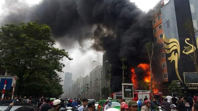 Công an TP Hà Nội đã khởi tố vụ hỏa hoạn tại quán karaoke số 68 Trần Thái Tông (Cầu Giấy, Hà Nội).