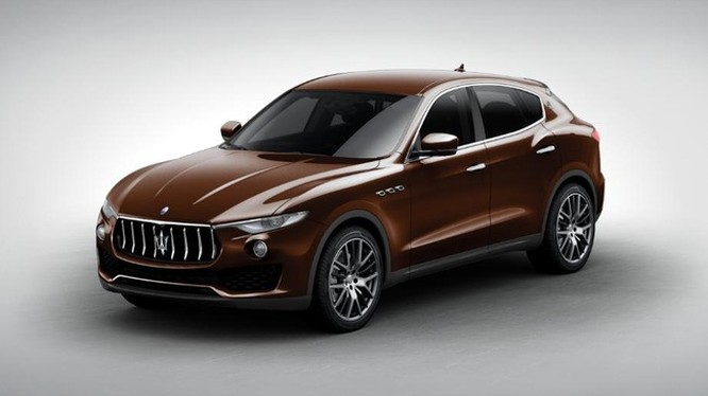 Maserati Levante màu socola