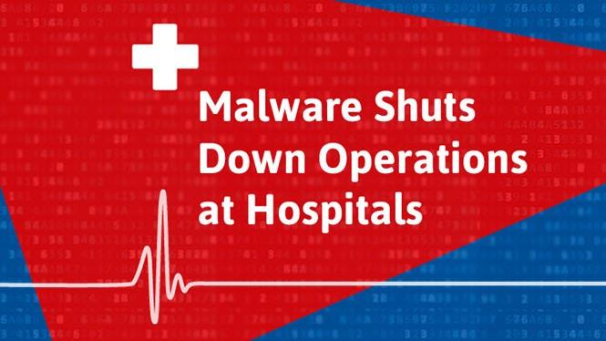 Thông báo về cuộc tấn công được phát trên website của NHS.
