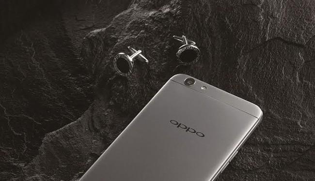 Oppo F1s phiên bản màu đen xám