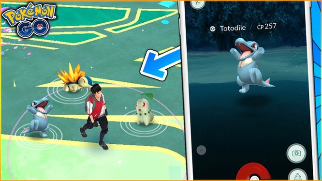 Pokémon GO sẽ sớm bổ sung các Pokémon thuộc Gen II