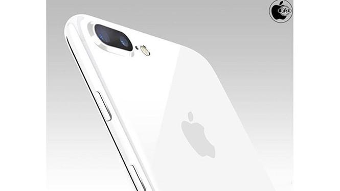 Một ý tưởng dành cho iPhone 7 Plus màu trắng bóng được đưa ra.