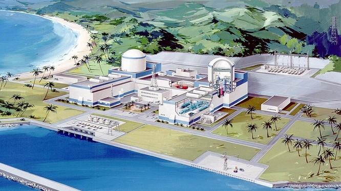 Phối cảnh nhà máy điện Hạt nhân Ninh Thuận - (Nguồn INternet)
