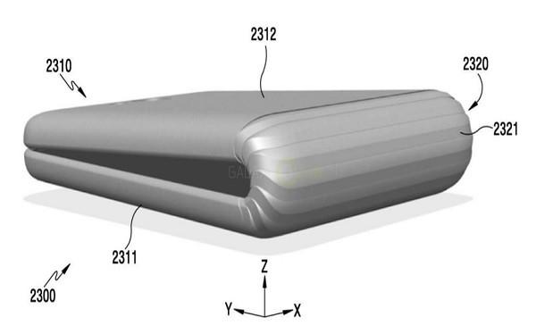 Hình ảnh của chiếc Smartphone siêu dị Samsung dự tính sản xuất