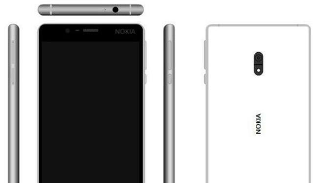 Thiết kế rò rỉ của Nokia D1C