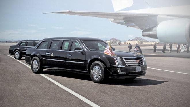 Ảnh dựng Cadillac One của Donald Trump- (Ảnh: Autoweek).