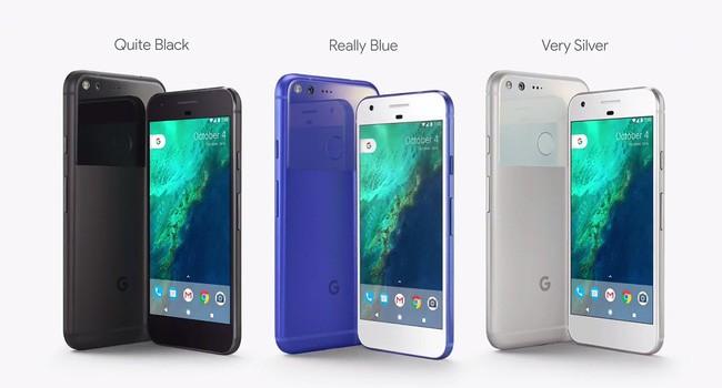 Thiết kế của Google Pixel và Google Pixel XL