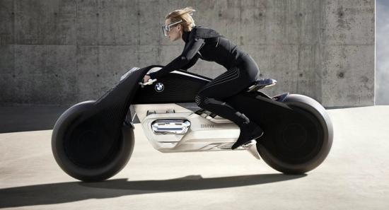 Mẫu mô tô BMW Vision Next 100