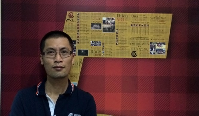 Ông Nguyễn Tuấn Huy - người đứng đầu Hiker Games