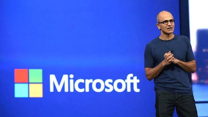 Người đứng đầu Microsoft đang vạch ra hướng đi lớn cho nền tảng bot và AI- (Ảnh: AFP).