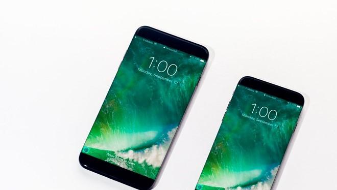 iPhone 8 có thể là model duy nhất sử dụng màn hình OLED, trong khi 2 bản nâng cấp của iPhone 7, 7 Plus dùng màn hình LCD. Ảnh: TechnoBufffalo.