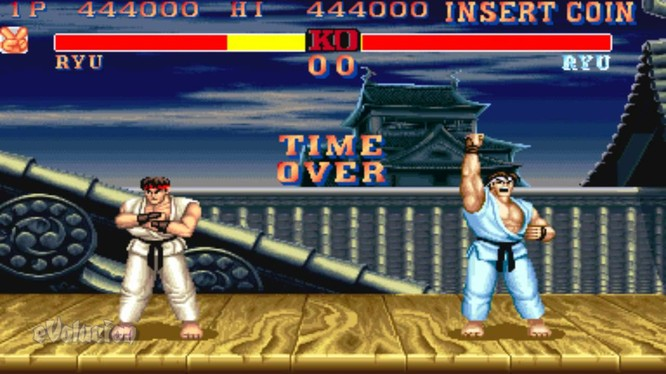Võ Sĩ Đường Phố II (Street Fighter II).
