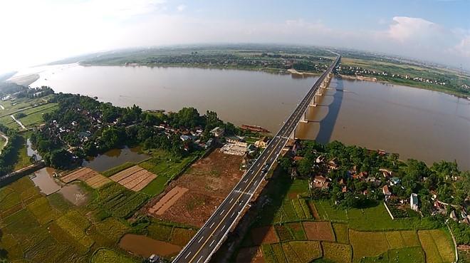 Phối cảnh Siêu dự án Sông Hồng của Xuân Thiện