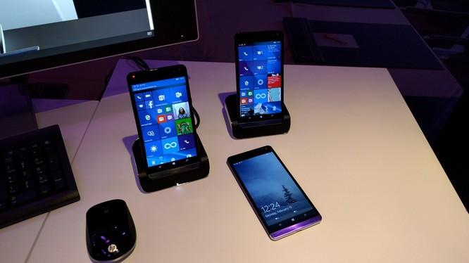 HP và Microsoft đang hợp tác để phát triển điện thoại Windows 10
