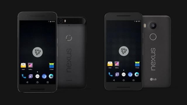 Nguyên mẫu đầu tiên được thử nghiệm trên smartphone Nexus.